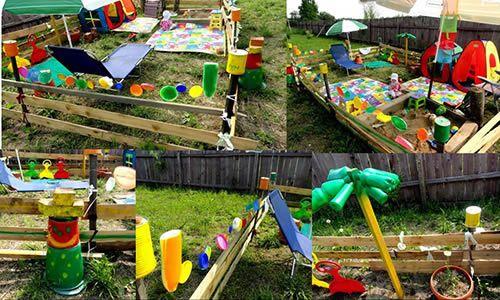 Як зробити дитячий майданчик на дачі