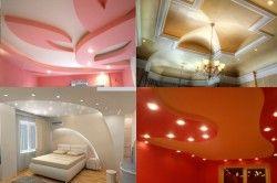 Приклади підвісних стель з гіпсокартону