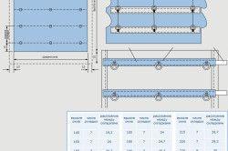 Схема збірки римської штори