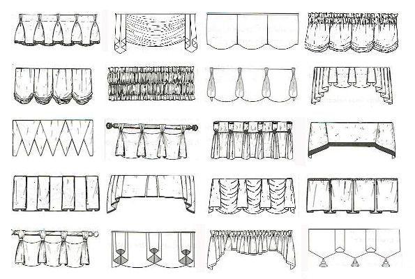 Фото - Як зробити красиві складки драпірування на шторах?