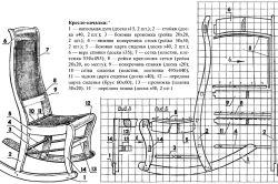 Фото - Як зробити крісло-гойдалку своїми руками?