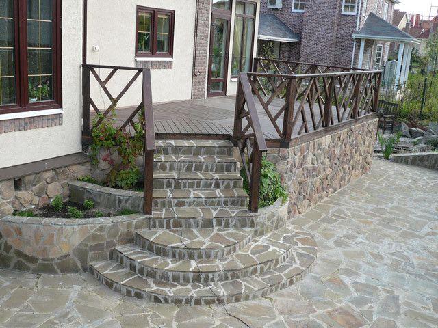 Фото - Як зробити ганок з бетону