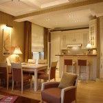 Кухня + кімната фото