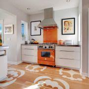 Сучасний дизайн робочої зони кухні