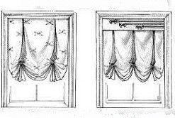 Варіанти оформлення лондонських штор