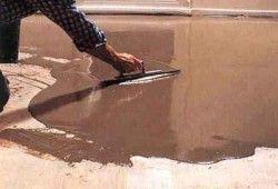 Фото - Як зробити наливні підлоги в лазні