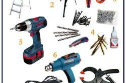 Перелік інструментів для монтажу натяжних стель