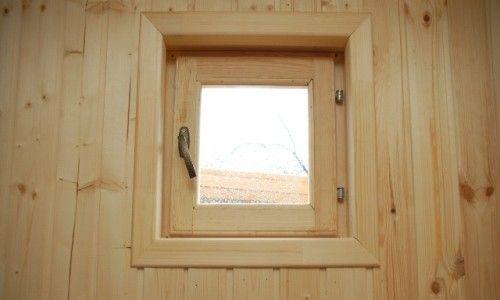 Фото - Як зробити вікна для лазні? Розміри.