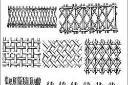 Фото - Як зробити плетений паркан