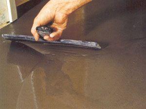 полімерна наливна підлога своїми руками