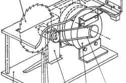 Схема збірки циркулярної пилки