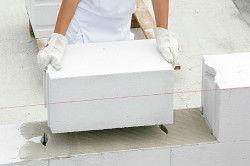 Укладання газобетонних блоків на клей