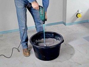 Фото - Як зробити самому наливна підлога з поліуретанові суміші?