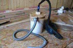 Саморобний будівельний пилосос для сухого прибирання