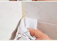 Способи зачепила стику між ванною і плиткою