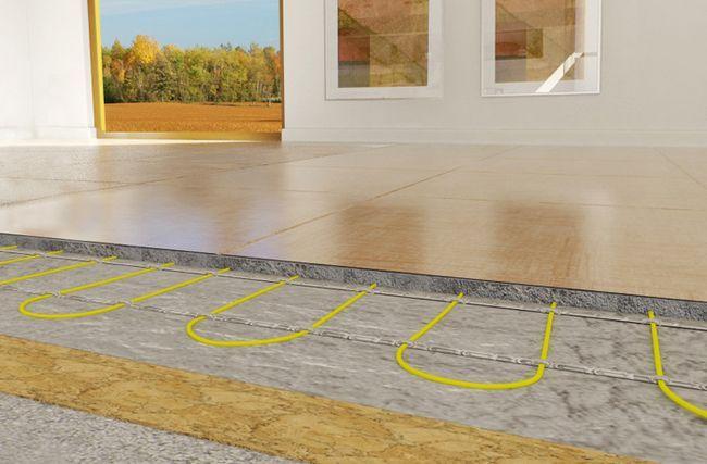 Фото - Як зробити теплу підлогу в своєму будинку