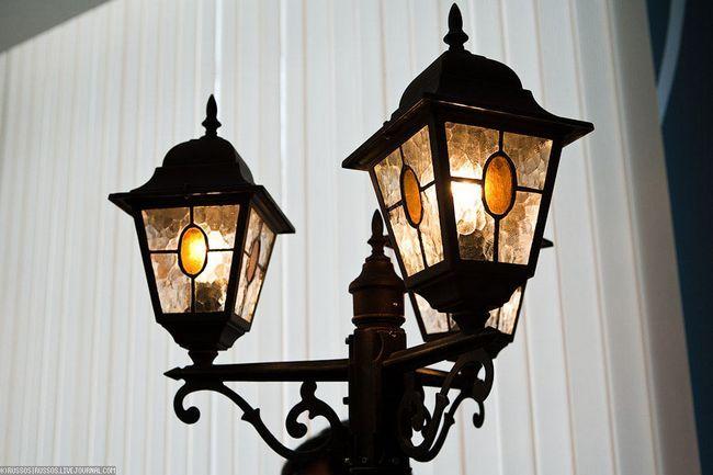 Фото - Як зробити вуличний світильник?