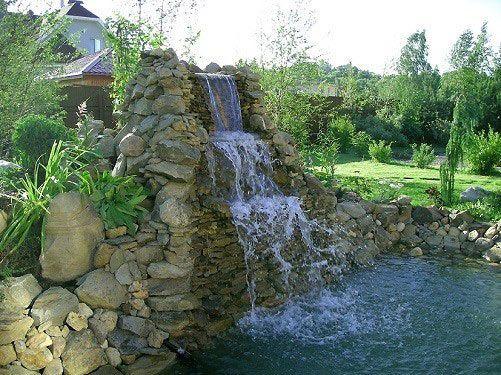 Фото - Як зробити водоспад на дачній ділянці