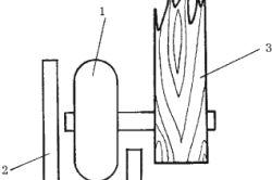 Схема кріплення нижніх роликів розсувних дверей