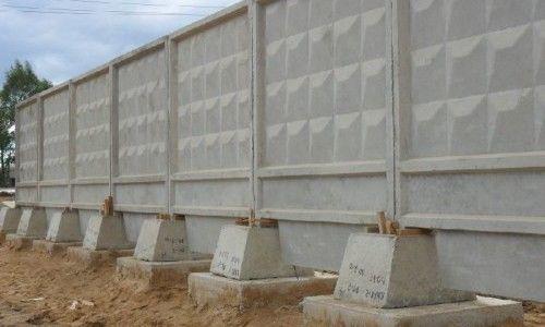 Фото - Як зробити паркан з бетонних плит своїми руками?