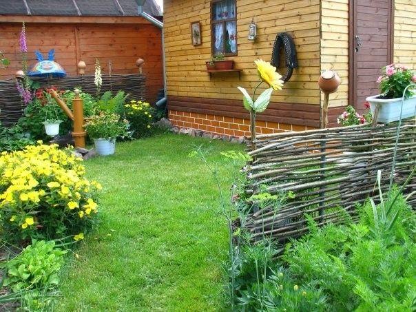 Фото - Як зробити паркан із прутів?