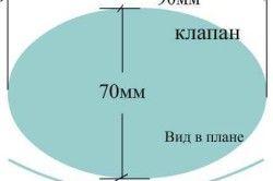 Схема клапана желонки