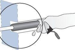 Схема штробления стіни під електропроводку