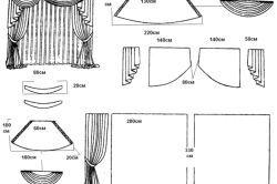 Фото - Як скроїти ламбрекен своїми руками