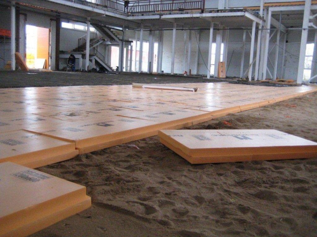 Пінополістирол для утеплення підлоги