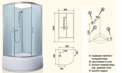 Фото - Як зібрати душову кабінку
