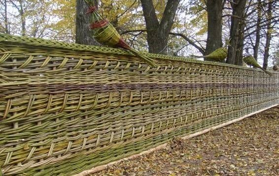 Фото - Як спорудити оригінальний і екологічно чистий паркан?
