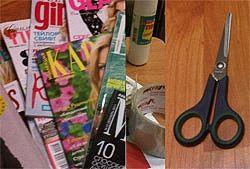 Вирізуйте картинки з журналів