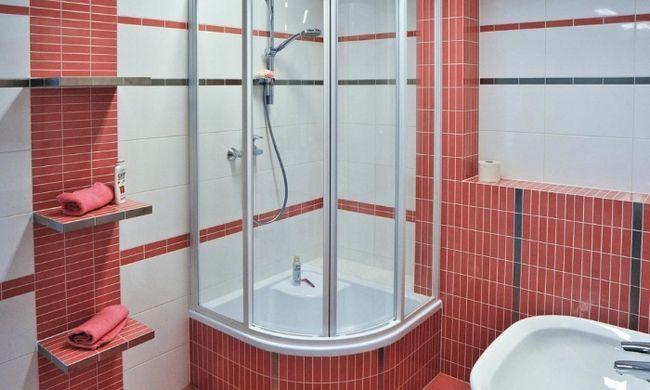 Дизайн ванної кімнати з душовою кабіною