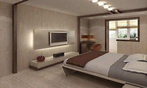 Фото - Як створити гарний дизайн спальні в приватному будинку?