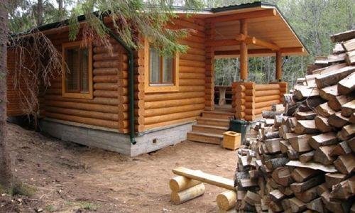 Фото - Як будується лазня на дровах?