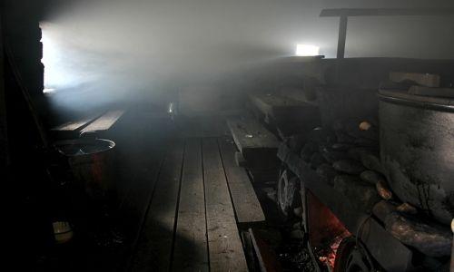 Фото - Як будується лазня по чорному, як виготовити піч?