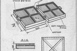 Креслення металевої форми для бруківки