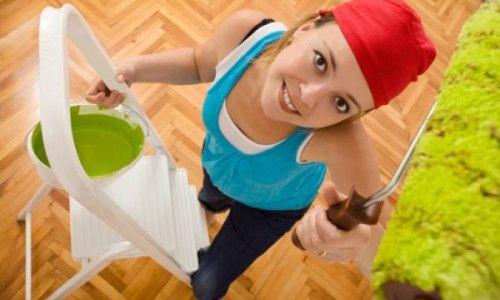 Фото - Як своїми руками фарбувати валиком стелю