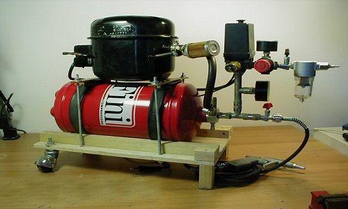 Саморобний компресор для аерографа