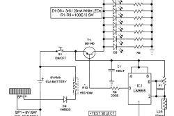 Схема світлодіодного ліхтаря