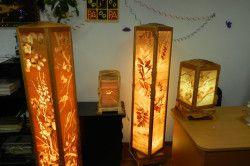 Ліхтарі з дерева