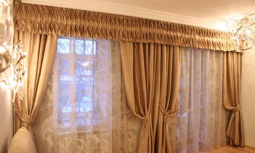 Фото - Як своїми руками зшити ламбрекен бандо для штор?