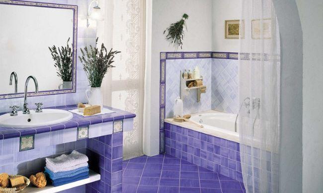 Дизайн стін ванної кімнати