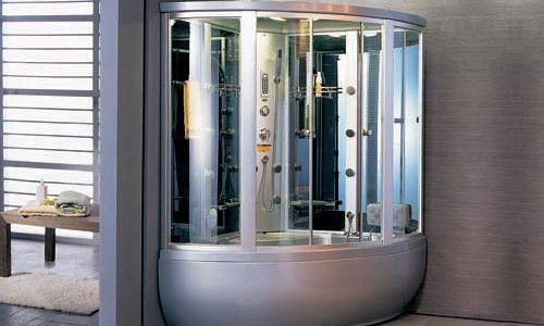 Фото - Як встановити душову кабіну в маленькій ванній кімнаті