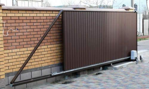 Як встановити відкатні ворота?