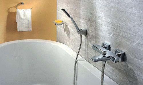 Фото - Як встановити змішувач у ванній