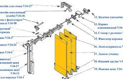 Фото - Як встановити в кімнаті вертикальні жалюзі. Поради по установці.