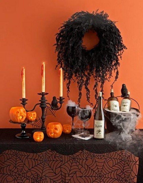 Прикраси для свята Хеллоуїна в домашніх умовах