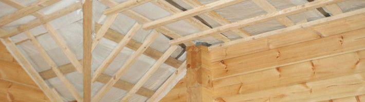 Фото - Як утеплити дах дерев'яного будинку