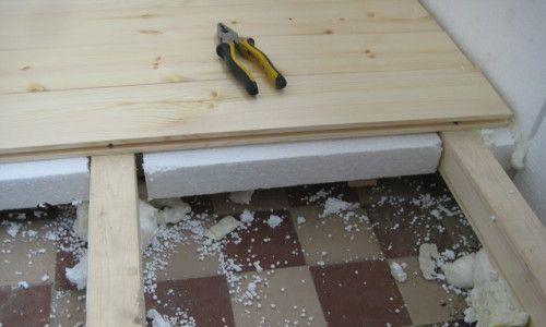 Фото - Як утеплити підлогу пінопластом за пару годин?